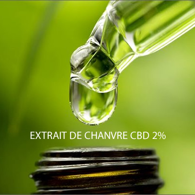 EXTRAIT DE CHANVRE CBD 2% photo 1