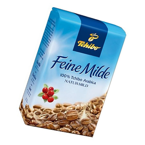 TCHIBO FEINE MILDE BOHNE 500gr. photo 1