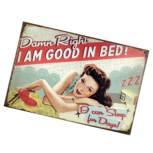 tin_sign_15cm_x_20cm_i_am_good_in_bed