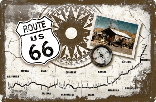 tin_sign_20cm_x_30cm_route_66