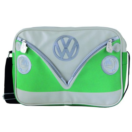 VW T1 SHOULDERBAG HORIZ GREEN photo 1
