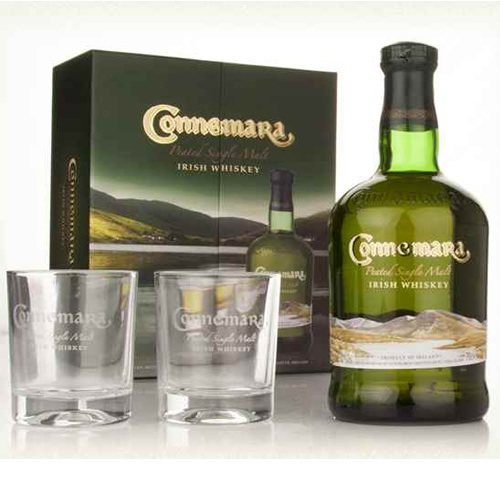 Whisky CONNEMARA DIST. EDI 70CL 43� + 2 VERRES photo 1